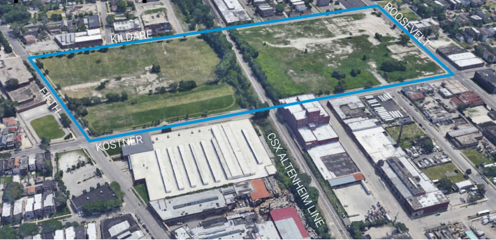 Can the Silver Shovel Site become the Cubs Youth Baseball Center or Cold Storage? West Siders may consider plans to modernize former dumping ground