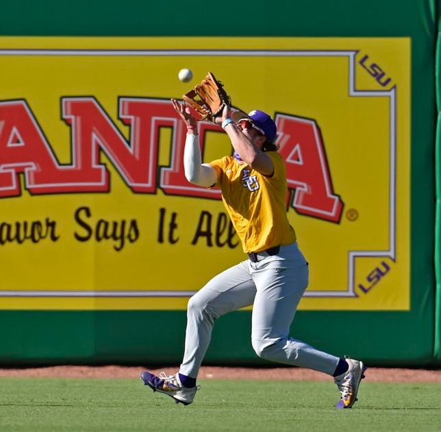 New Year's students impress in game 1 of LSU's autumn baseball Purple-Gold World Series |  LSU