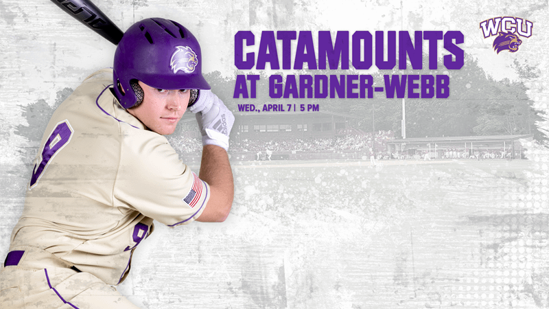 Catamount Baseball visits Gardner-Webb on Wednesday