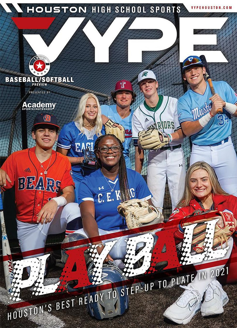 VYPE launches 2021 Baseball / Softball Cover with seven athletes