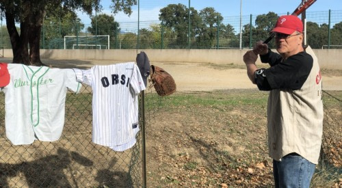 L'Oriente, new baseball territory with Jeff Sandy