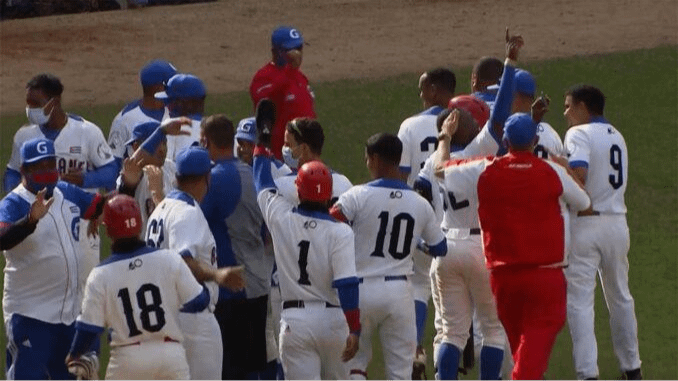 Granma, the first team to reach the final of the 60th Cuban Baseball Championship