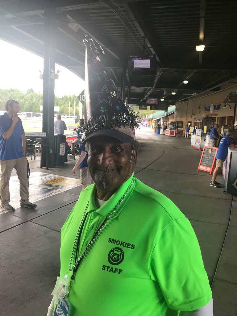Tennessee Smokies Baseball mourns the death of beloved usher Hoppy