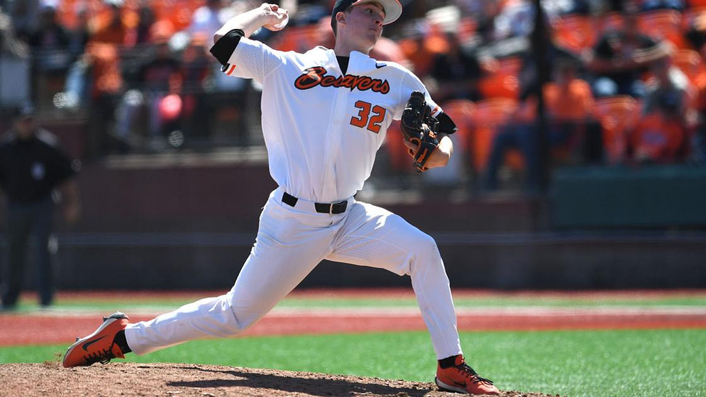 OSU Baseball: With Difficult Recovery Behind, Mitchell Verburg is Ready to Return to the Beavers' Bullpen |  Baseball