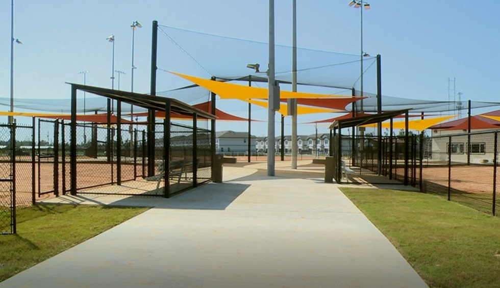 The Cain Griffin Park baseball complex is preparing for a grand reopening