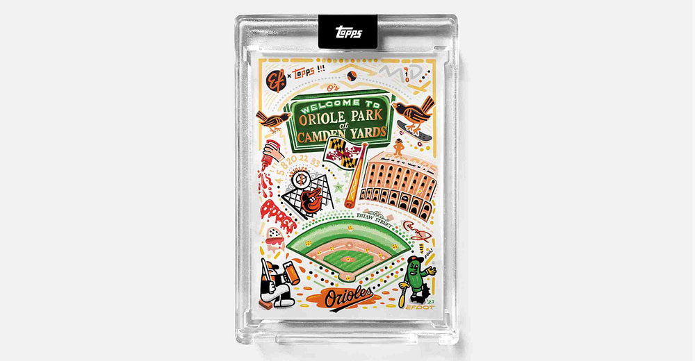 Sports artist Efdot discusses his personal baseball cards, more - Marseille News