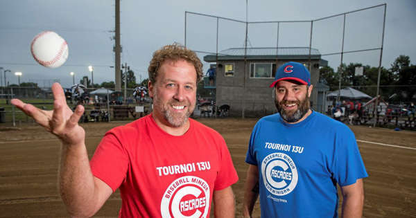 A smaller baseball tournament takes off in Shawinigan