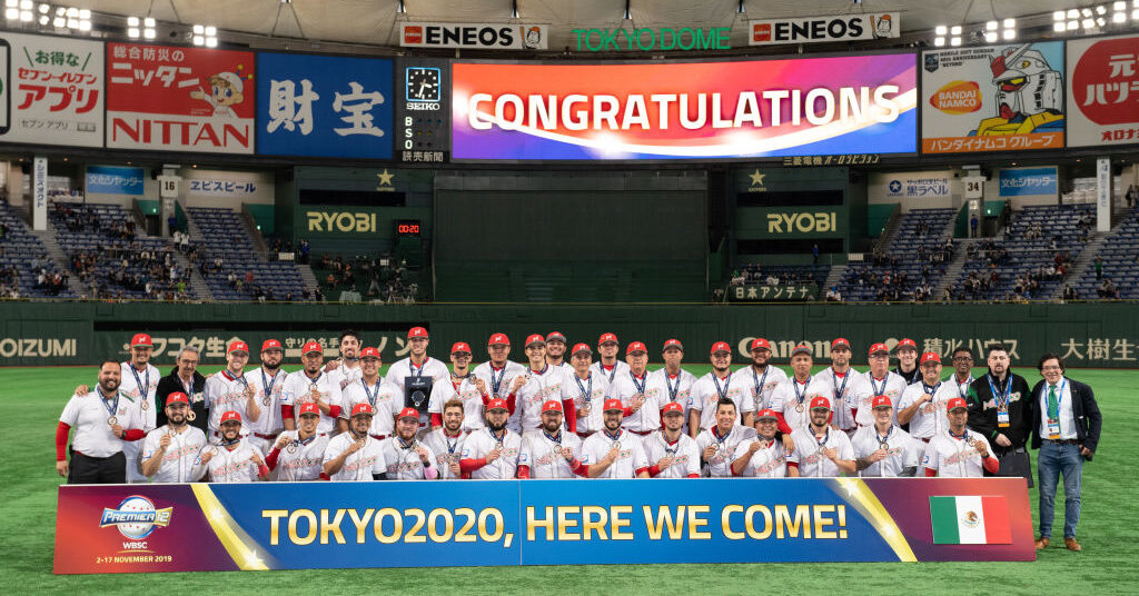 Mexico makes its Olympic baseball debut against the Dominican Republic