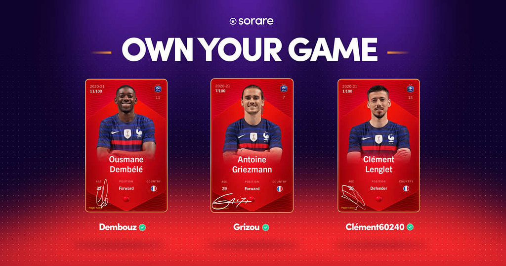 Sorare, the French start-up that revolutionizes collectible football cards