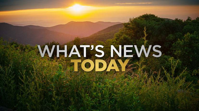 What's new today: Baseball announcement, roadworks