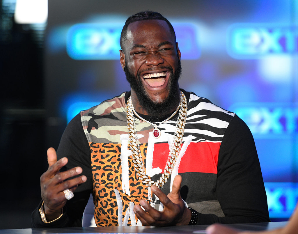 'More money, less risk' - Deontay Wilder says he would switch to baseball