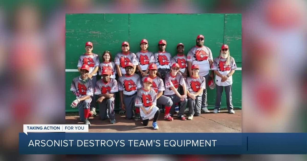 Baseball teams serving underprivileged players in distress after arson destroy equipment