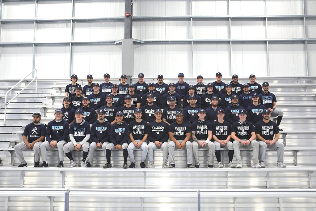 Washburn Baseball is looking forward to getting back on the diamond