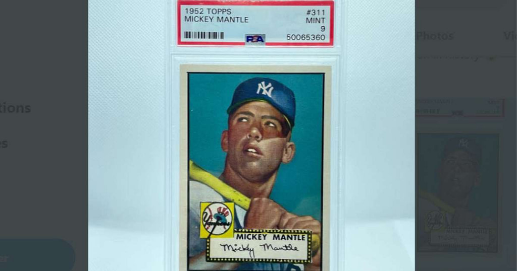 A trading card sold for over $ 5 million!