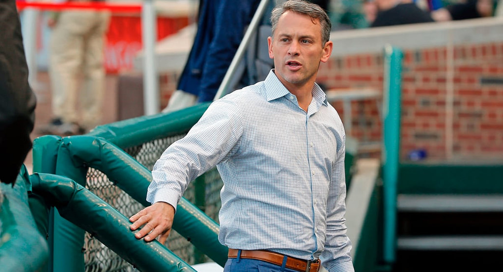 Cubs Make It Official, sign Jed Hoyer to Five-Year Deal as New President of Baseball Operations