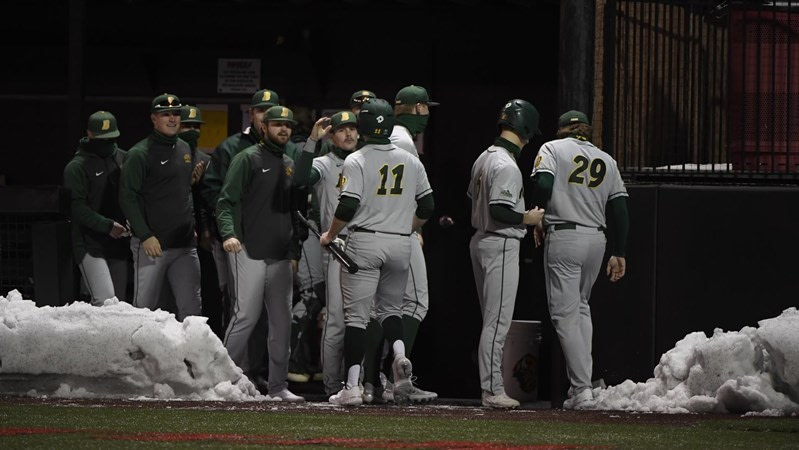 Bison Baseball to Face Billikens in the Four Game Series
