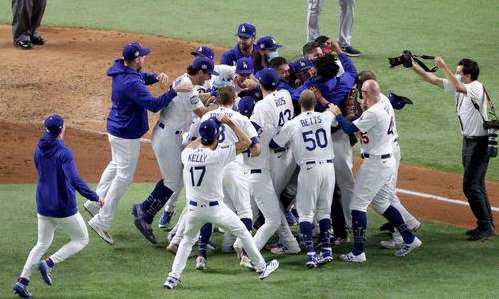 After 32 years, the Dodgers finally won the World Series