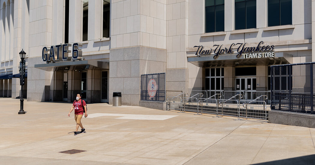 New York will expand the opening of sports and arts facilities for the baseball season, the governor said.