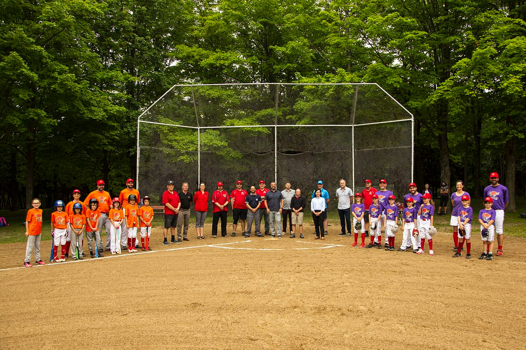 Opening of the Mont-Sacré-Coeur baseball field |  News |  The voice of the East