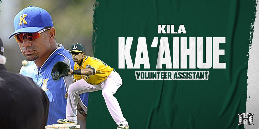 'Bow's baseball adds former major league Kila Ka'aihue to the coaching staff