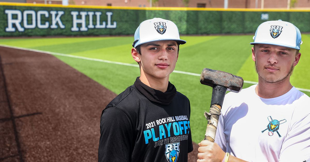 With a blue collar mentality and a sledgehammer, Prosper Rock Hill is the baseball carving of its own identity