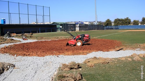 Reagan Field Home Plate Project