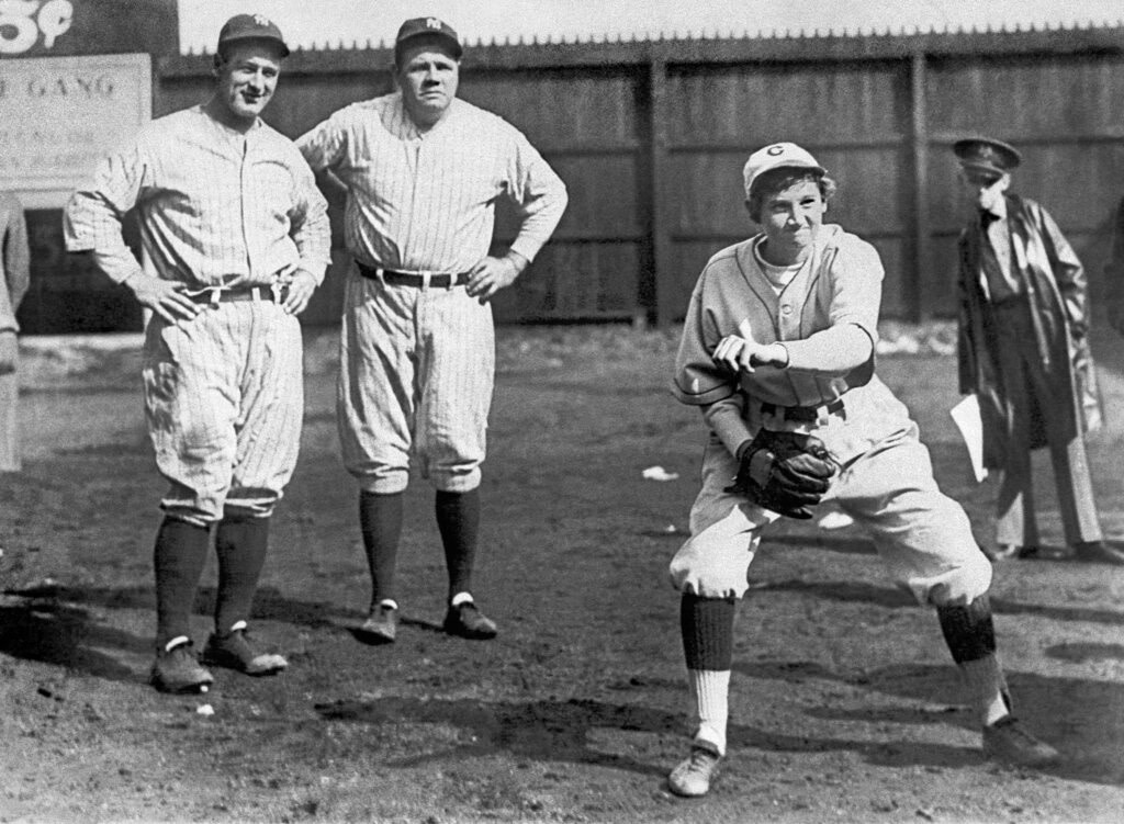 Who says baseball is not for girls?  They have been playing it for almost two centuries.  - Twin Cities