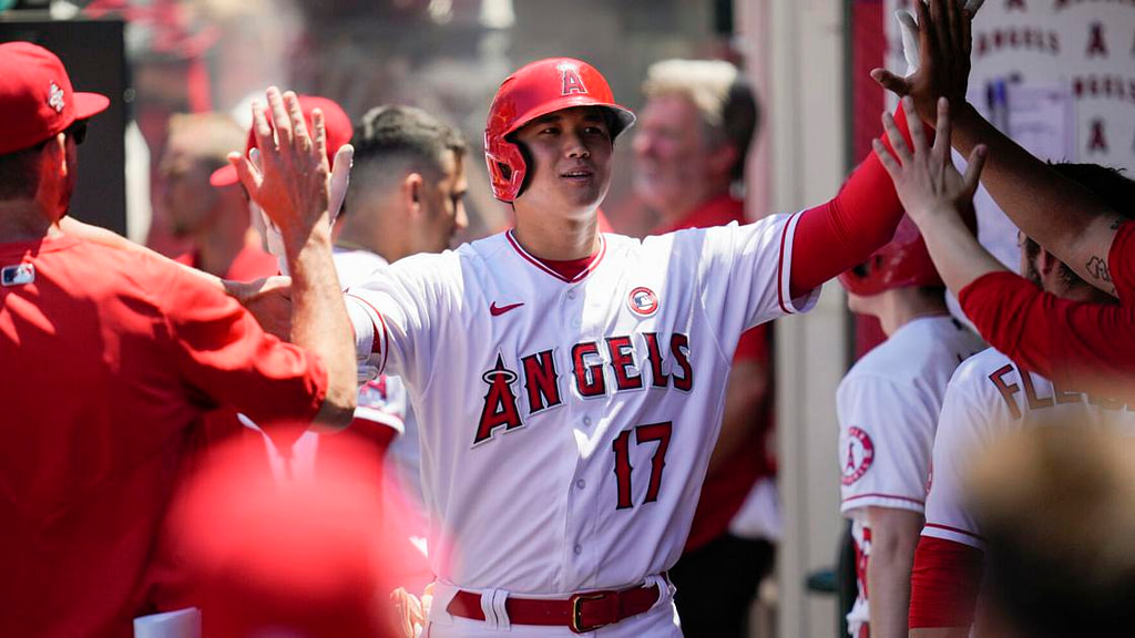 Ohtani 1. All-Star selected as pitcher, position player |  Baseball