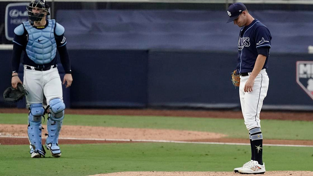 Fading Rays: Tampa Bay on the brink of ALCS collapse vs Astros |  Baseball
