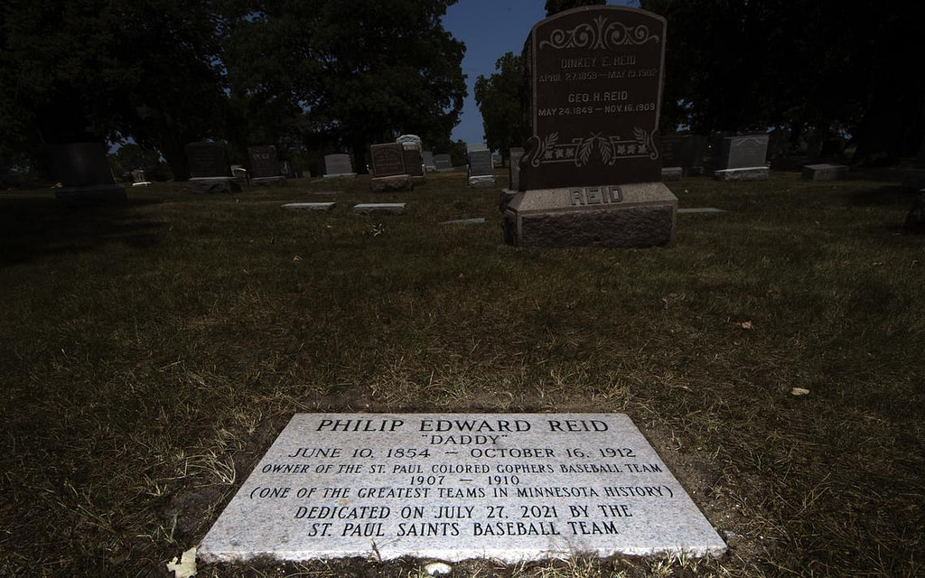 After a century in an unmarked tomb, St. Paul's Black baseball founder finally gets a tombstone