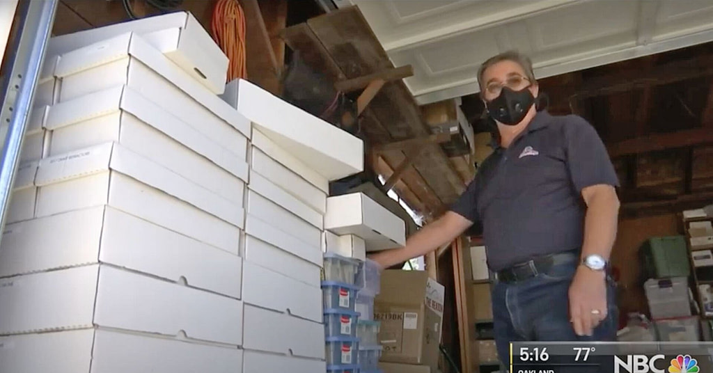 The man donates 25K baseball cards to Girl Who's Collection Burned in Wildfire
