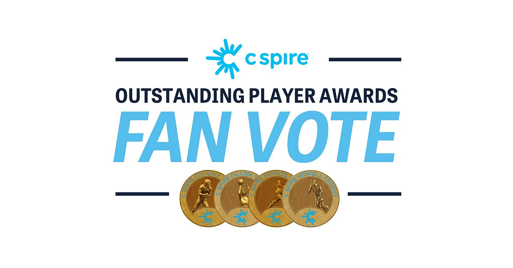 Mississippi college baseball, soccer, men's and women's basketball players who are fan-voting winners named the 2021 C Spire Outstanding Player Awards