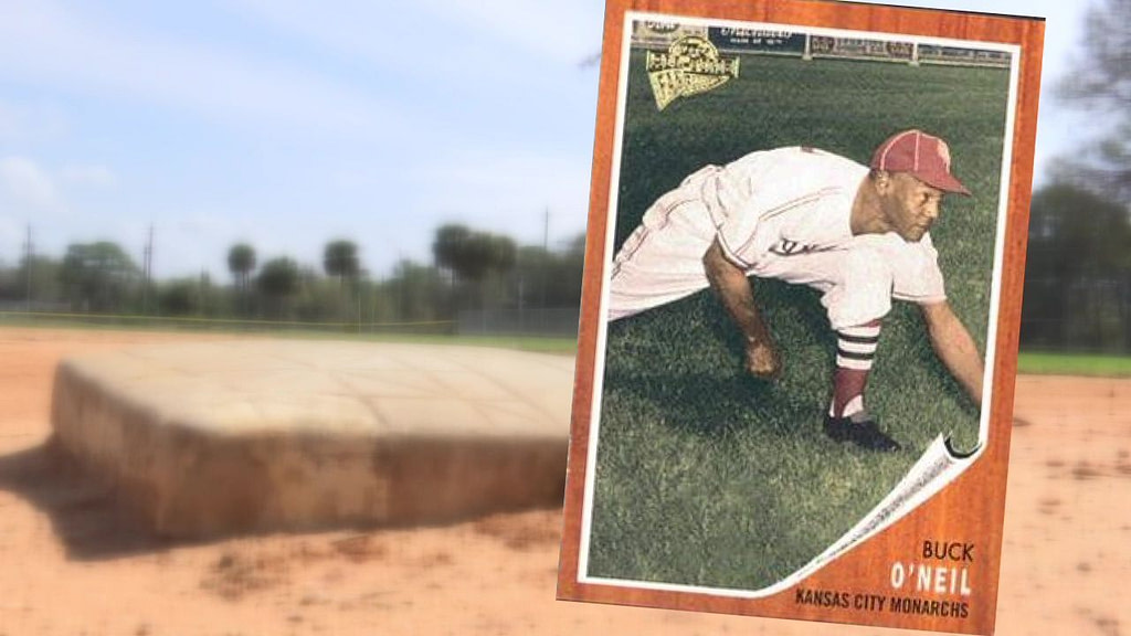 Exhibition honoring the first black Major League Baseball coach Buck O'Neil to be exhibited in Sarasota