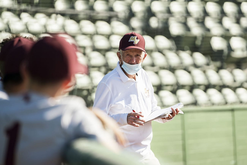 Bob Guidi is still at the helm of the baseball field after 57 years