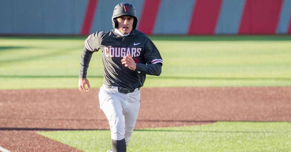 WSU baseball takes game 1 of the Boeing Apple Cup