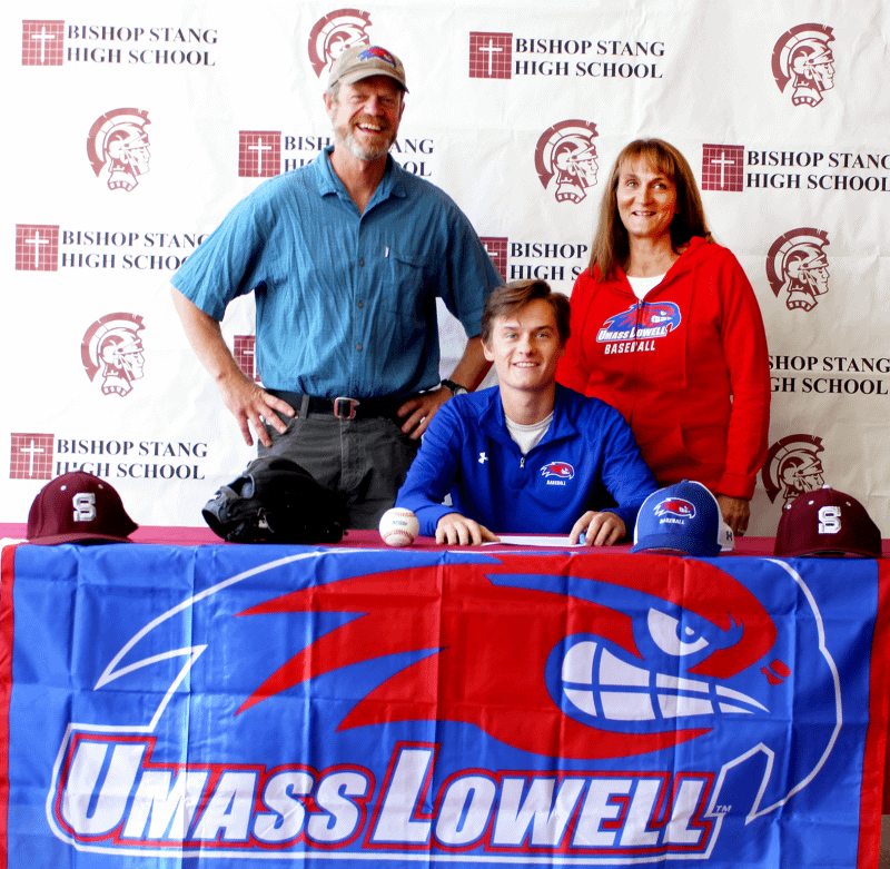Bishop Stang student signed to division 1 baseball team