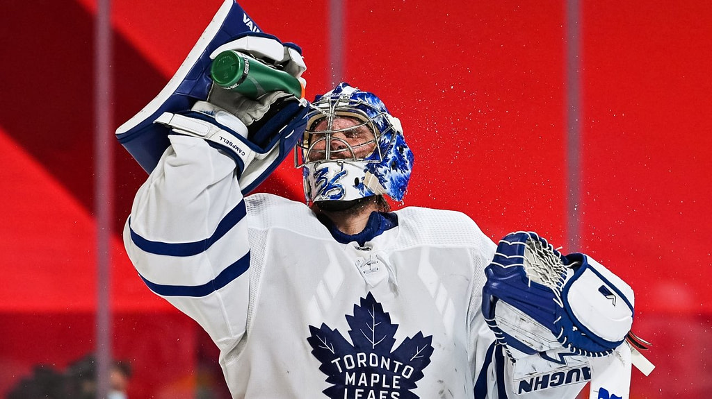 NHL: Jack Campbell becomes the Maple Leafs' starting goalie for Game 1 against the Canadiens