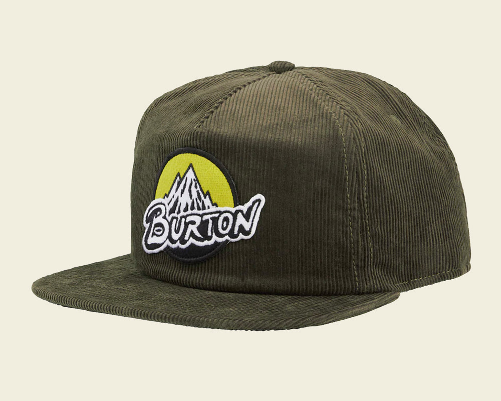 Burton Retro Mountain Snapback hat