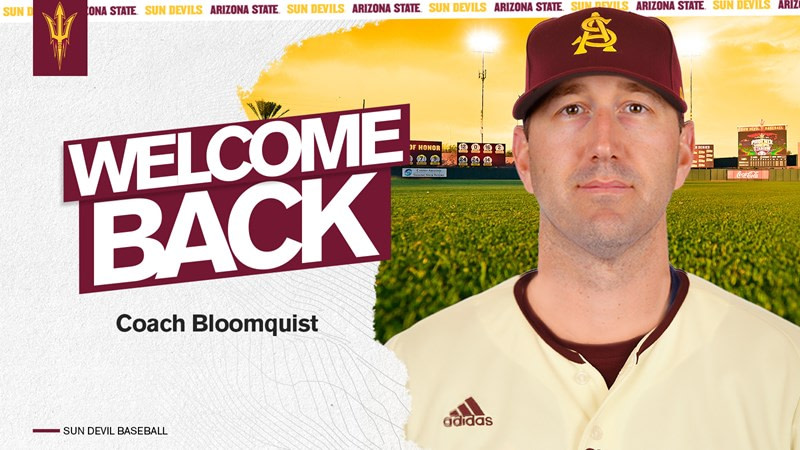 Willie Bloomquist was named the head coach of Sun Devil Baseball