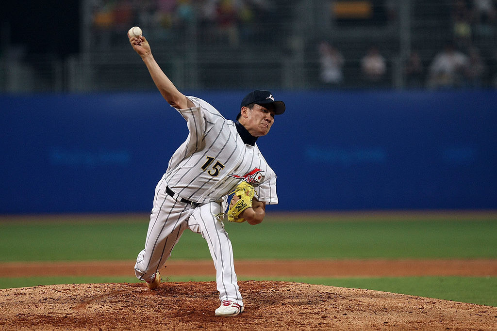 Masahiro Tanaka helped Japan to fourth place in baseball competition at Beijing 2008 Olympics © Getty Images