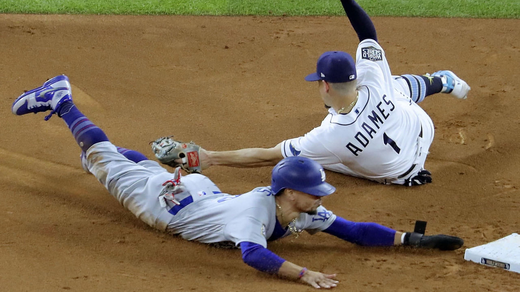 Baseball: The Dodgers beat the Tampa Bay Rays, getting closer to the title