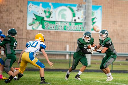 Pinconning football hosts Harrison for the Jack Pine Conference