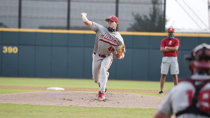 Day one of Baseball's Fall World Series Wraps at 6-4 in favor of Crimson