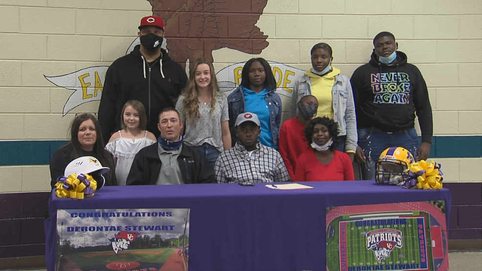 Student from Crawford County High School signs scholarship for both football and baseball - wgxa.tv