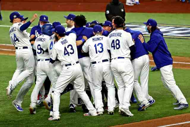 The Los Angeles Dodgers win World Series over Tampa Bay Rays