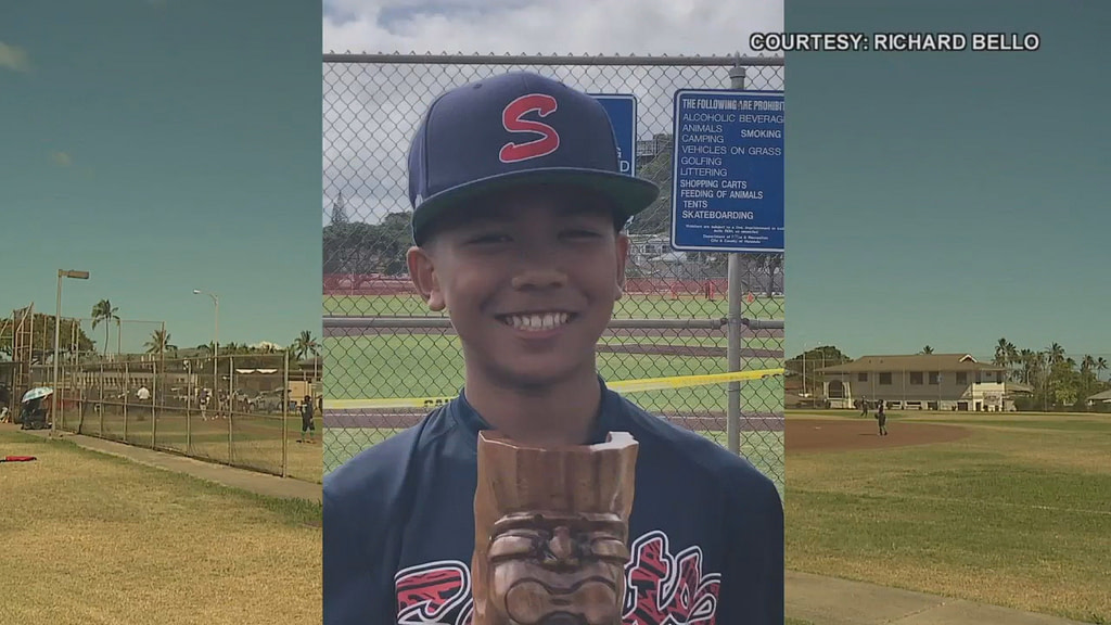 The Hawaii baseball community is collaborating to help 12-year-olds diagnosed with brain tumors