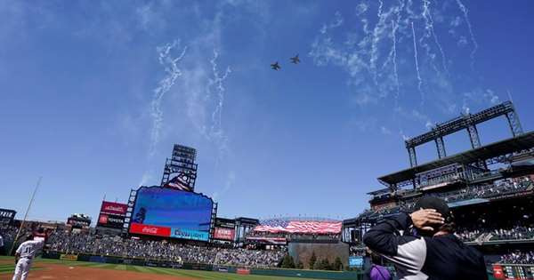 Major Baseball All-Star games to be moved to Denver, says AP