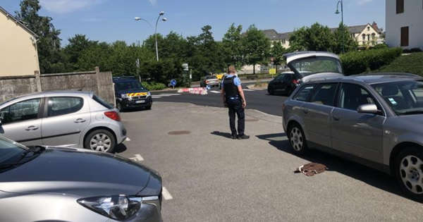 Brawl in Pontivy.  Two men injured in a fight, with knives and baseball bats
