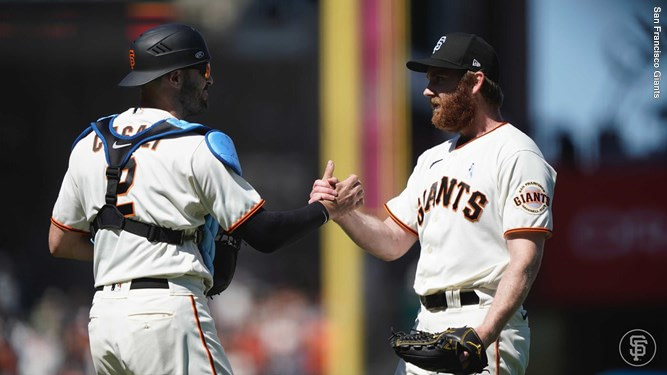 John Brebbia debuted with the San Francisco Giants on June 20, 2021
