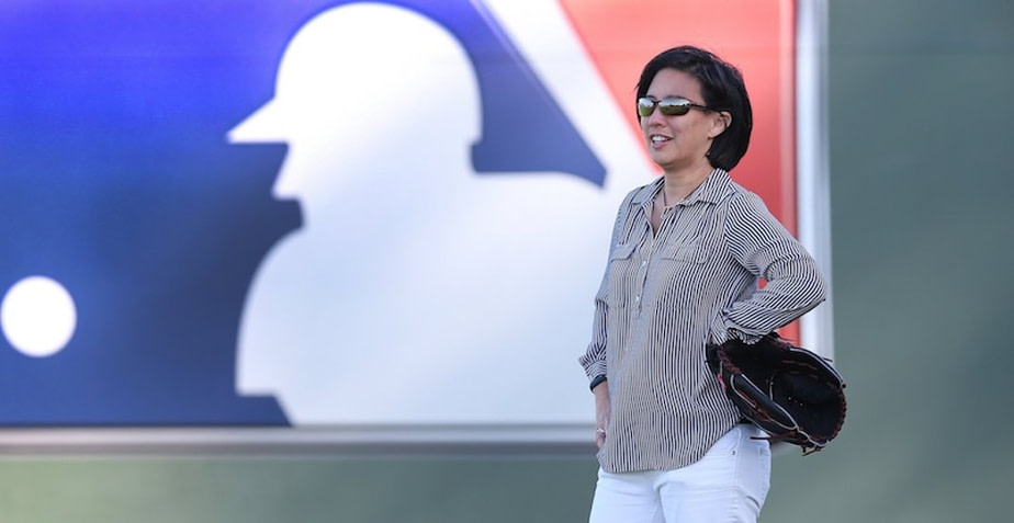 First female GM in baseball in the major league
